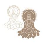 Laser Cut Buddha SVG File