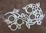 Laser Cut Decorative Picture Frame Free Vector