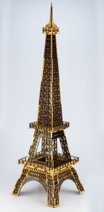 Laser Cut Eiffet Tower 3mm Plywood Free Vector