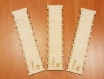 Laser Cut Embroidery Floss Organizer Free Vector