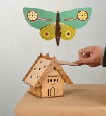 Laser Cut Home 2.6MM MDF Free Vector