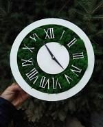Laser Cut Roman Clock Free Vector
