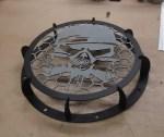 Laser Cut Steampunk Mask BBQ Grill DXF File
