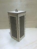 Laser Cut Wooden Night Light Box Lamp Free Vector