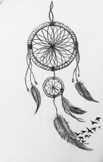 Laser Engraving Dreamcatcher Drawing Free Vector
