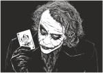 Laser Engraving Joker Free Vector