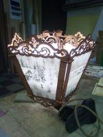 Laser Cut Wooden Decorative Lamp Free Vector