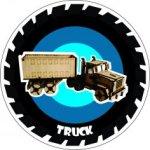 Truck Laser Cut PDF File