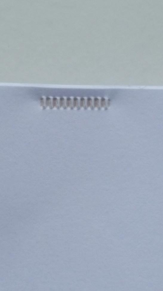 kokuyo press binder holes