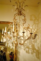 Ebanista showroom. I had to look into this chandelier for a client's entryway!