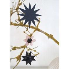 julepapirklip-stjerne