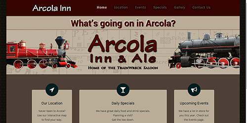 Arcola Inn & Ale screenshot