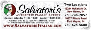 Salvatori's print advertisement