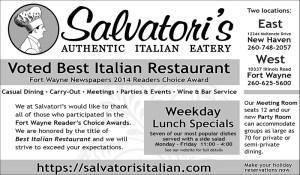 Salvatori's print advertisement B&W