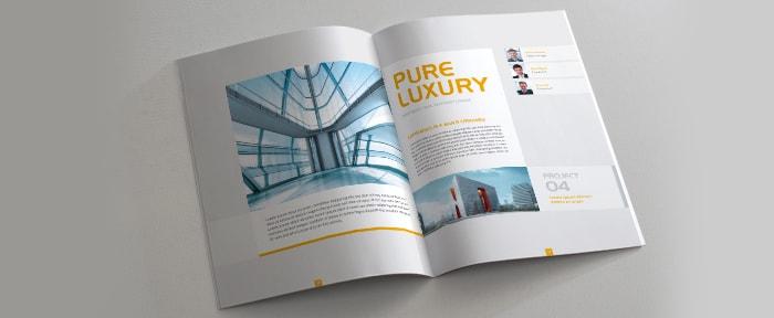 Modern Brochure Design Shack