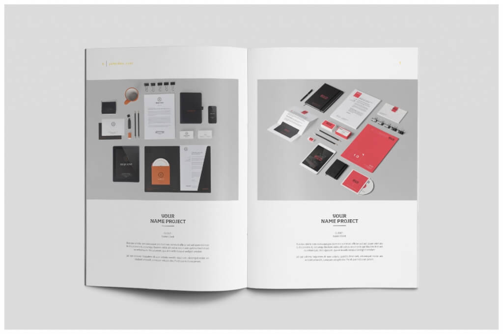 03 page6 7 o 1024x681 - 70+ Modern Corporate Brochure Templates