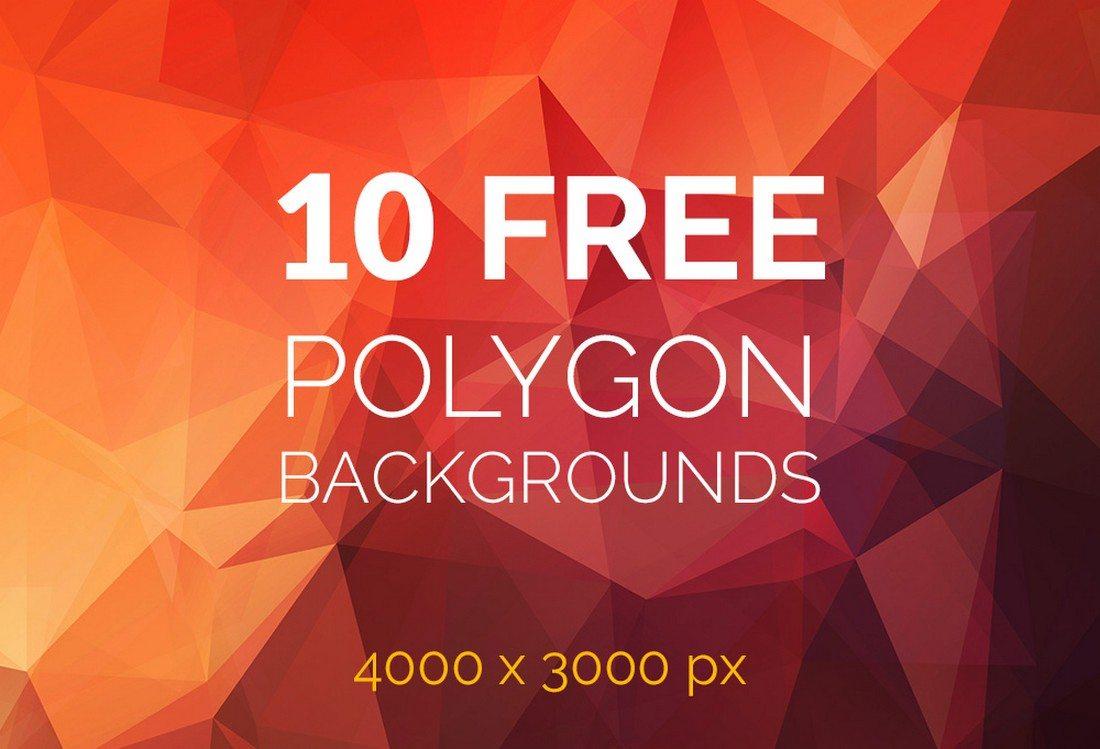 20+ Beautiful Geometric & Polygon Background Textures 71
