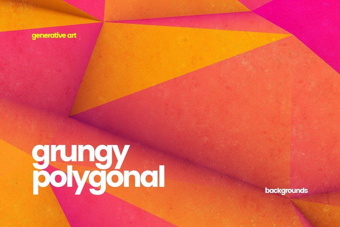 20+ Beautiful Geometric & Polygon Background Textures 47