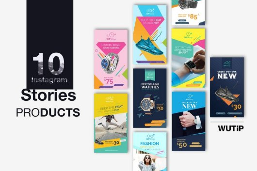 10 Product Promotion Instagram Story Templates