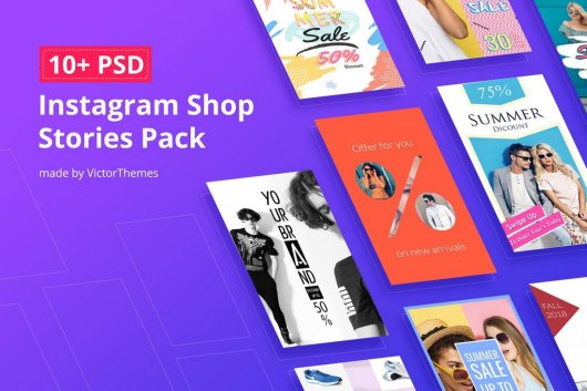 10 Shop Instagram Story Templates