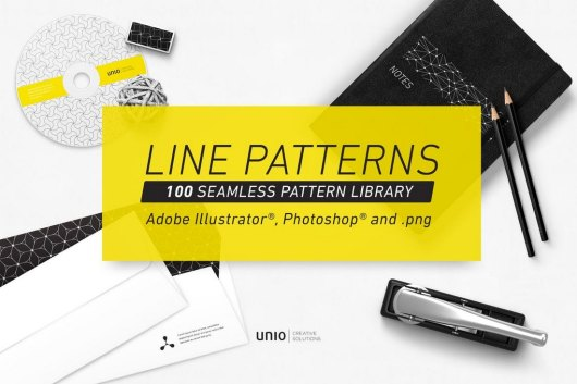 100 Seamless Line Patterns