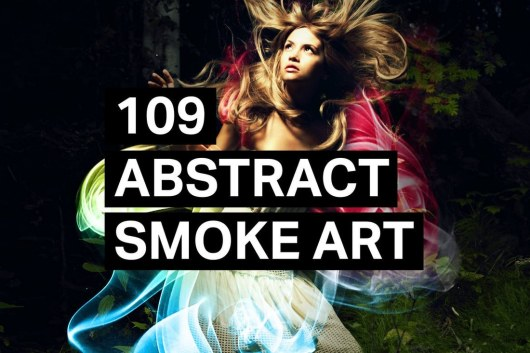 109 Abstract Smoke Art Photoshop Brushes