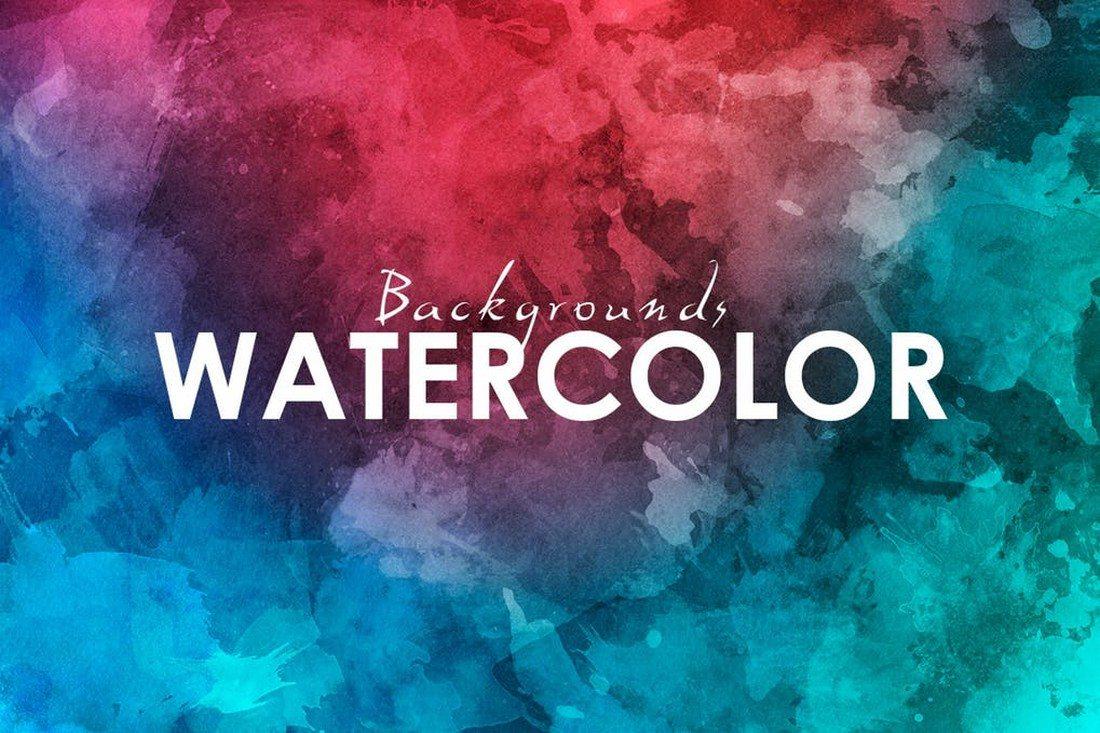 20+ Best Watercolor Background Textures 25