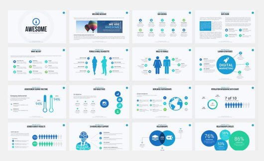 60+ Beautiful, Premium PowerPoint Presentation Templates