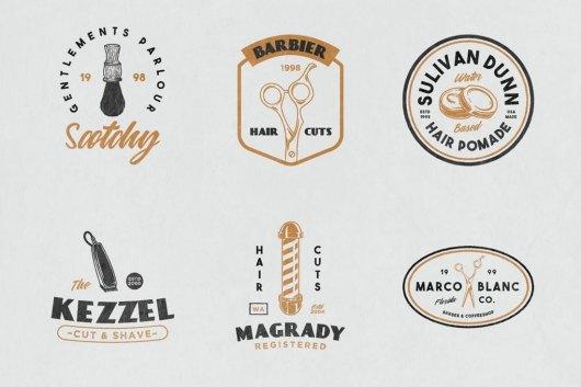 12 Vintage Barber Shop Sign Templates