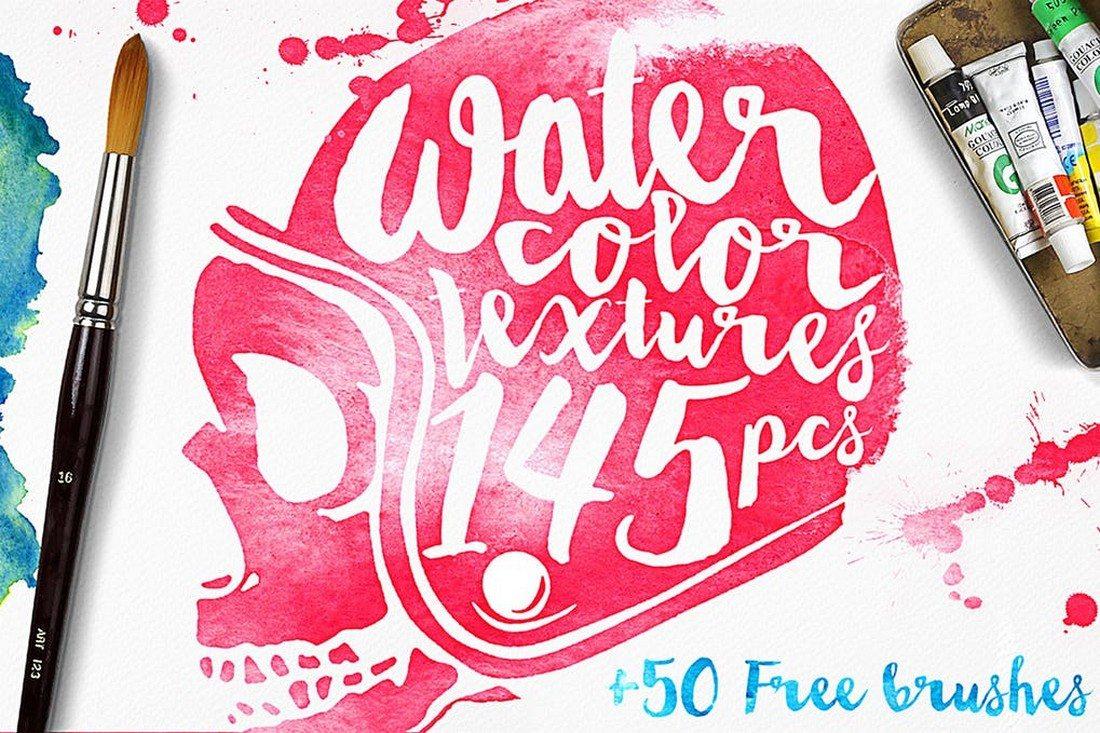 20+ Best Watercolor Background Textures 46