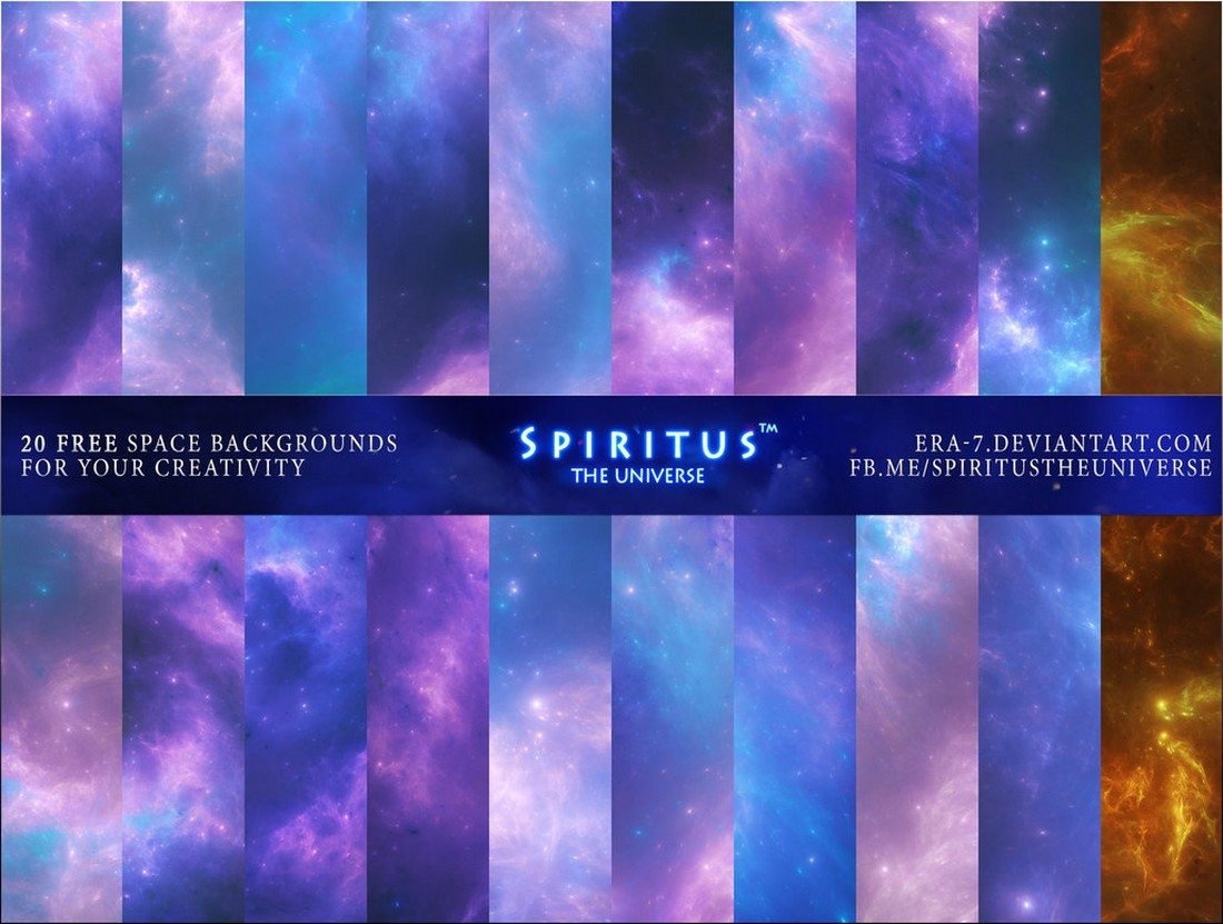 20+ Best Space & Nebula Background Textures 31