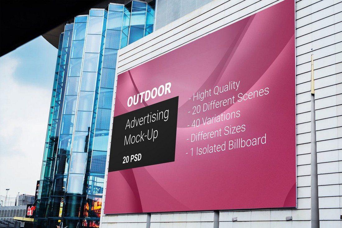 20+ Best Billboard Mockups 39