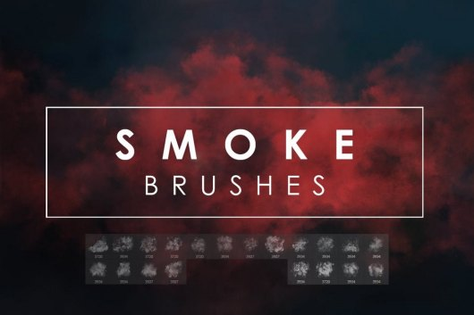20 Smoke Photoshop Brushes