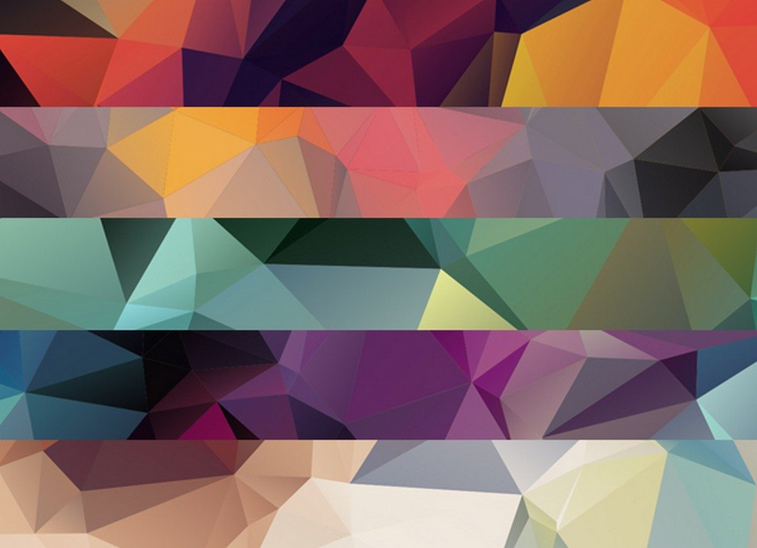 20+ Beautiful Geometric & Polygon Background Textures 73