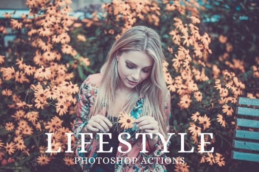 25 Lifestyle Instagram Photoshop Actions