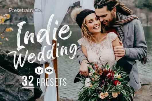 32 Indie Wedding Presets for Lightroom