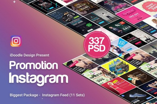 330+ Instagram Post Templates