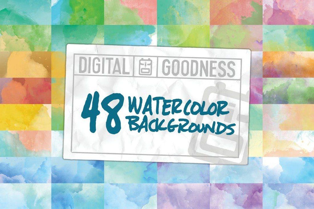 20+ Best Watercolor Background Textures 42