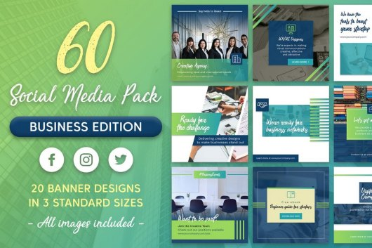 60 Business & Corporate Instagram Templates