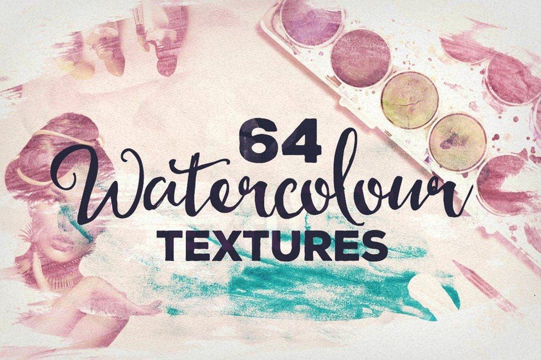 20+ Best Watercolor Background Textures 24