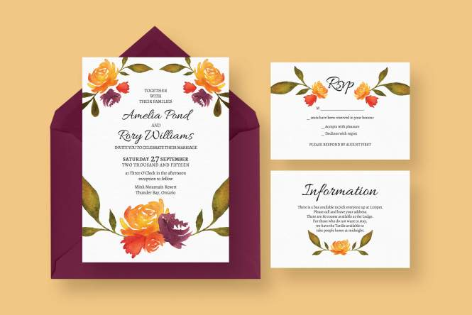 Wedding Invitations From Paper Divas