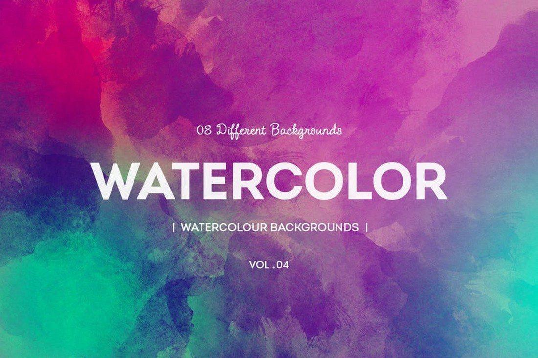 20+ Best Watercolor Background Textures 36