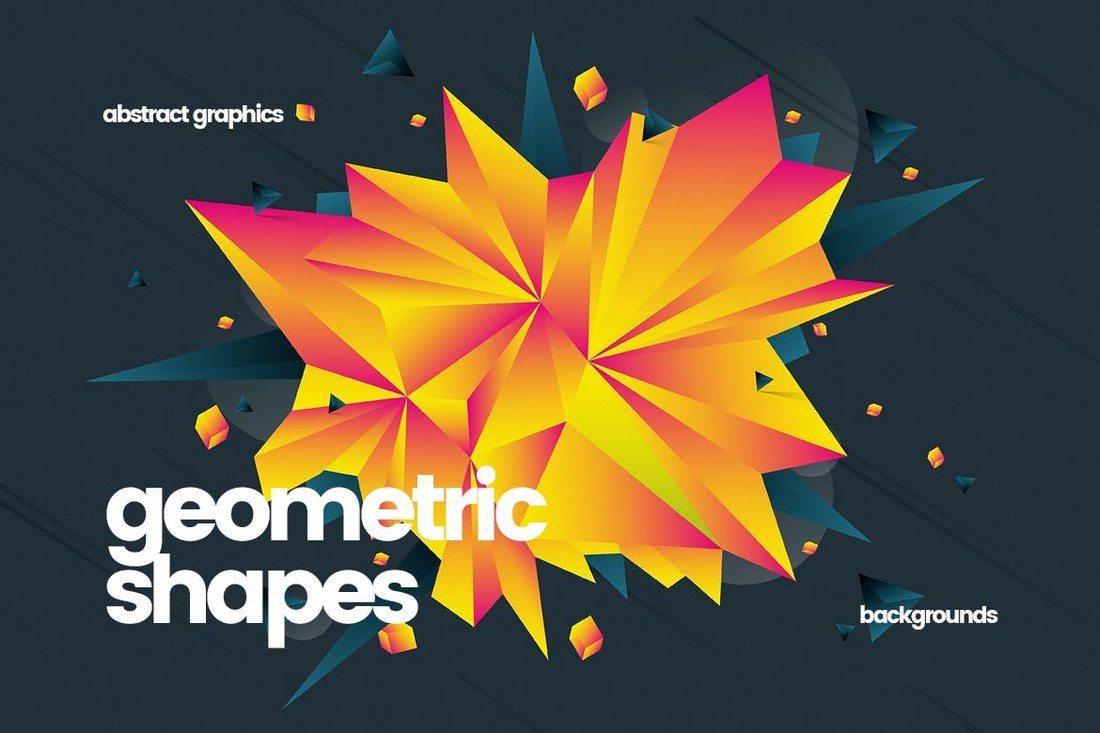 20+ Beautiful Geometric & Polygon Background Textures 43