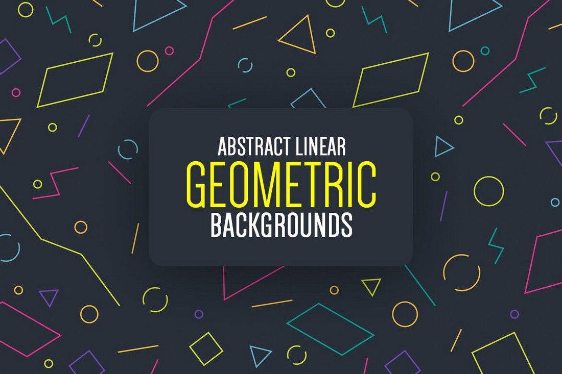 20+ Beautiful Geometric & Polygon Background Textures 39