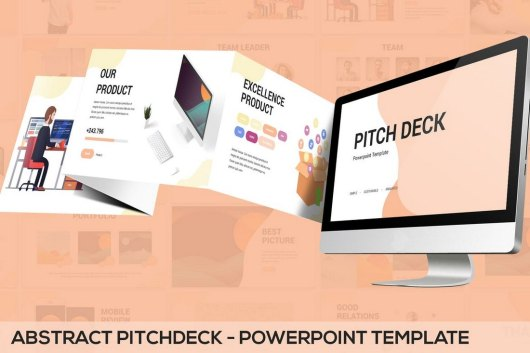 Abstract Pitchdeck - Powerpoint Template