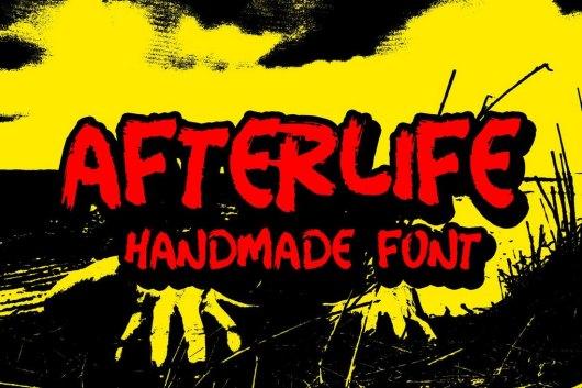 Afterlife Handmade - Halloween Font