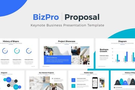 BizPro - Proposal Keynote Template Presentation