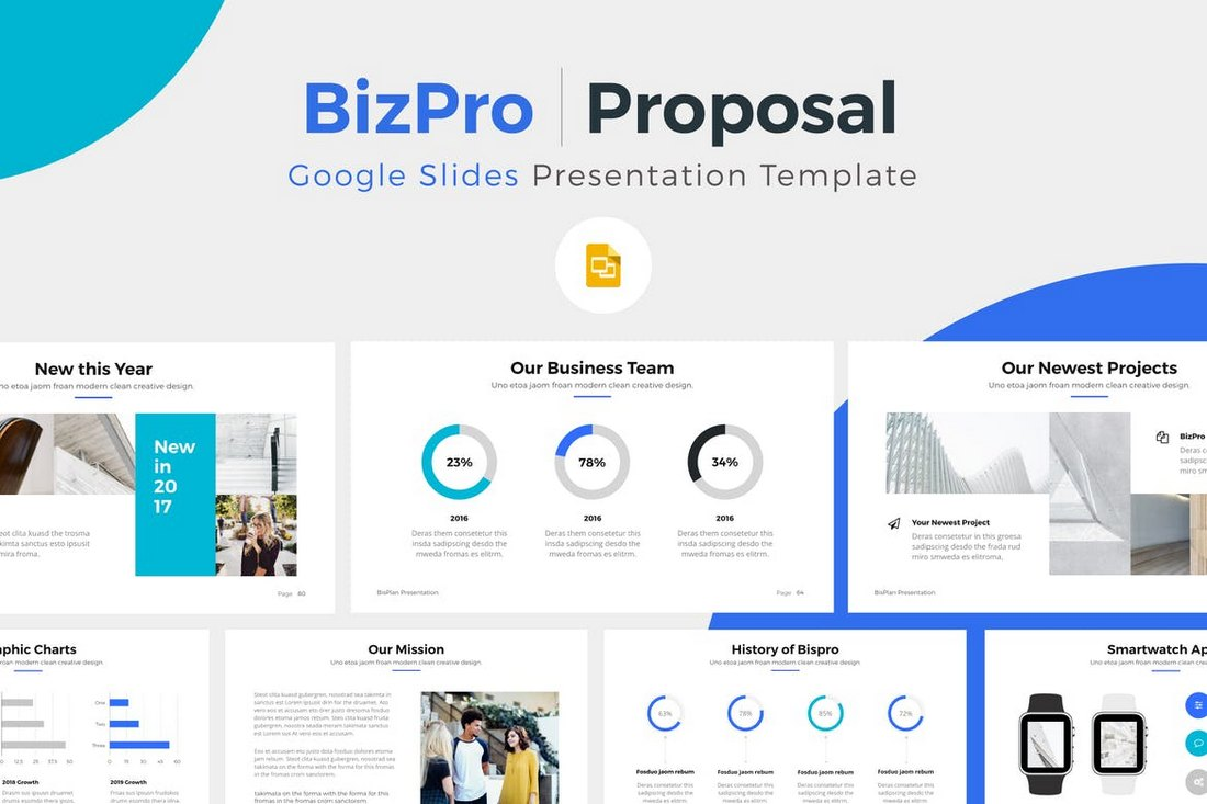 Google Slides Presentation Template