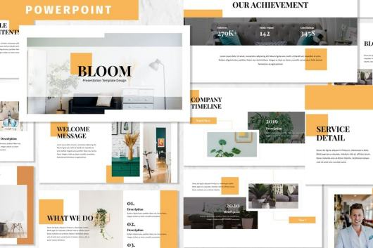 Bloom - Business Powerpoint Template