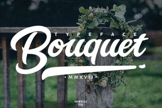Bouquet Typeface